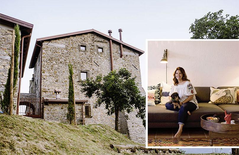 Annette Joseph - In Toscana, la mia casa Rustic Glam