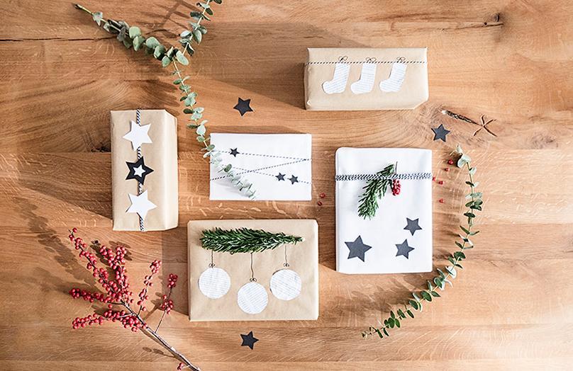 DIY: 3 x kerstcadeaus origineel inpakken