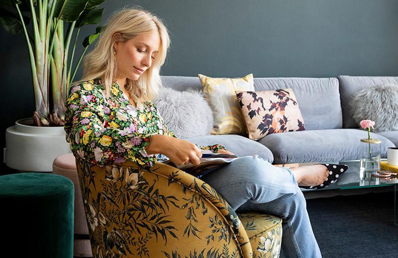 Yara Michels' supercoole home make-over