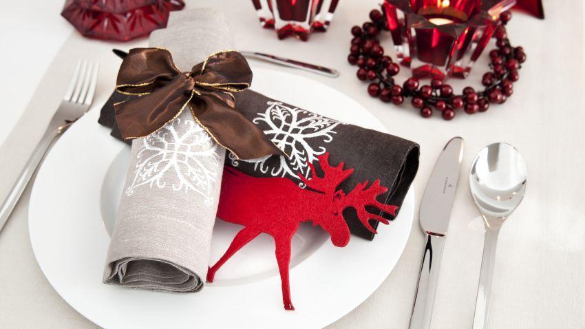 Déco table de Noël