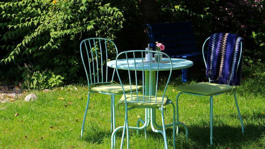 Tavoli Da Giardino Provenzali.Tavolo Da Giardino In Alluminio Relax Al Sole Dalani E Ora Westwing