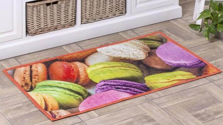 wystrój kuchni podłogi