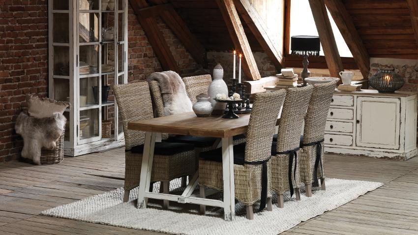 Mesas de comedor rústicas