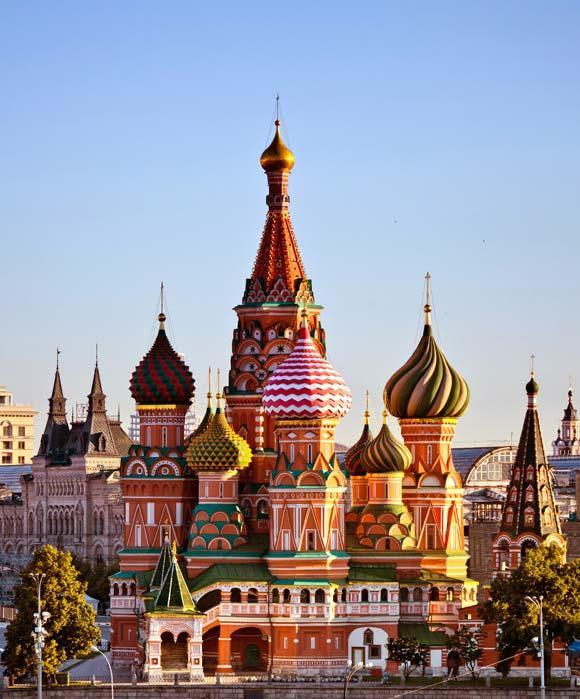 Willkommen in Moskau