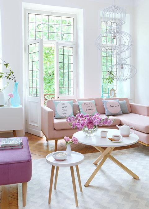 Trend: Pastellfarben im Interior