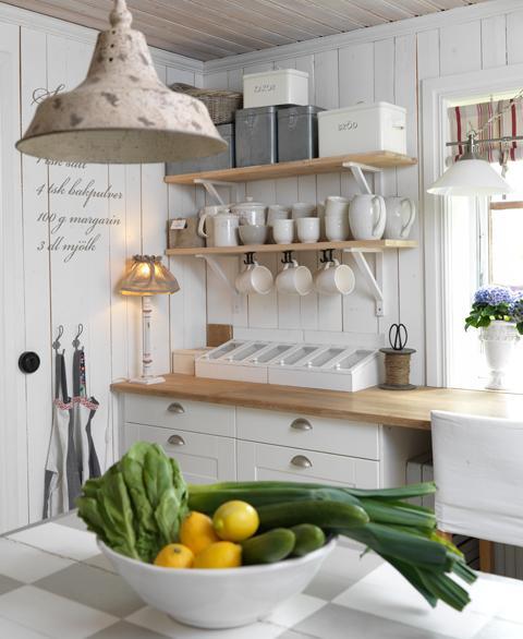 Schwedische Landhausküche