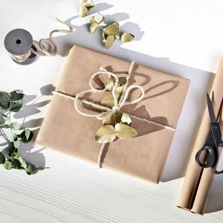 Verpacken ohne Geschenkpapier