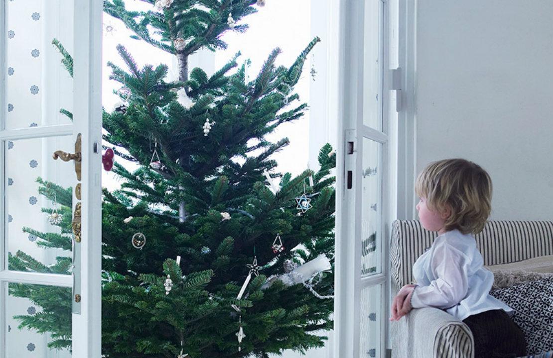 Planes para niños en Navidad árbol