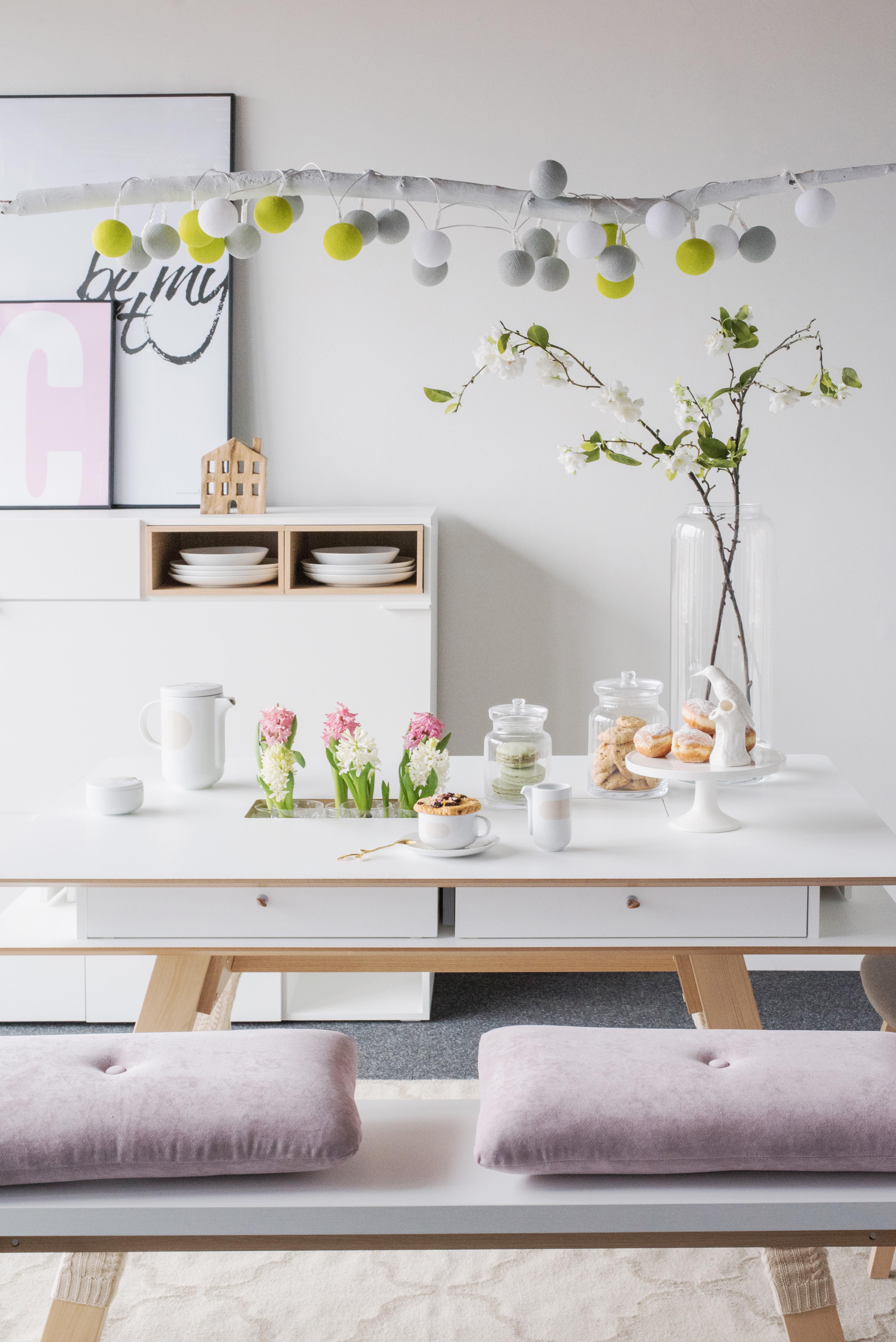 Profumo di Primavera: tavola style