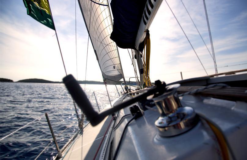Vacanza in barca. Lo stile è nautical
