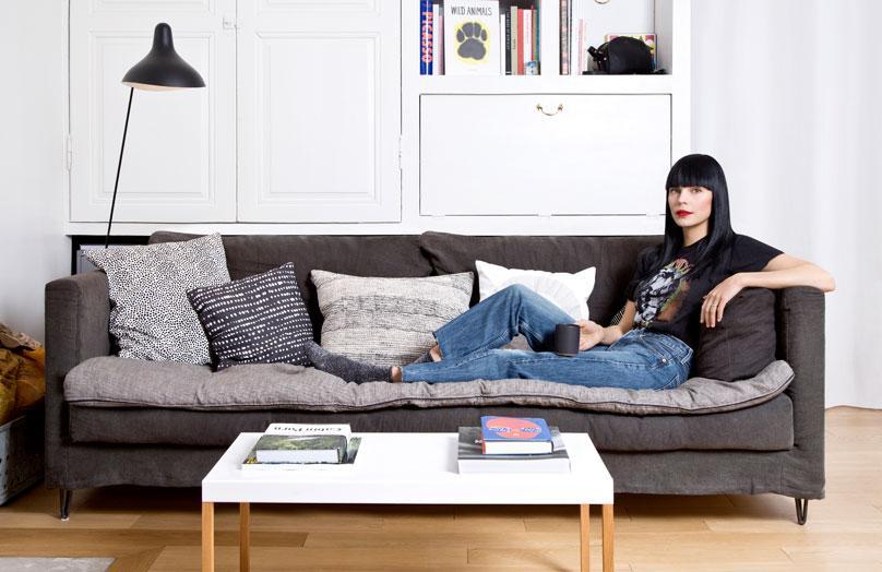 Landelijk wonen in Parijs - Op bezoek bij model Pihla