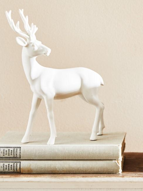 White deco deer