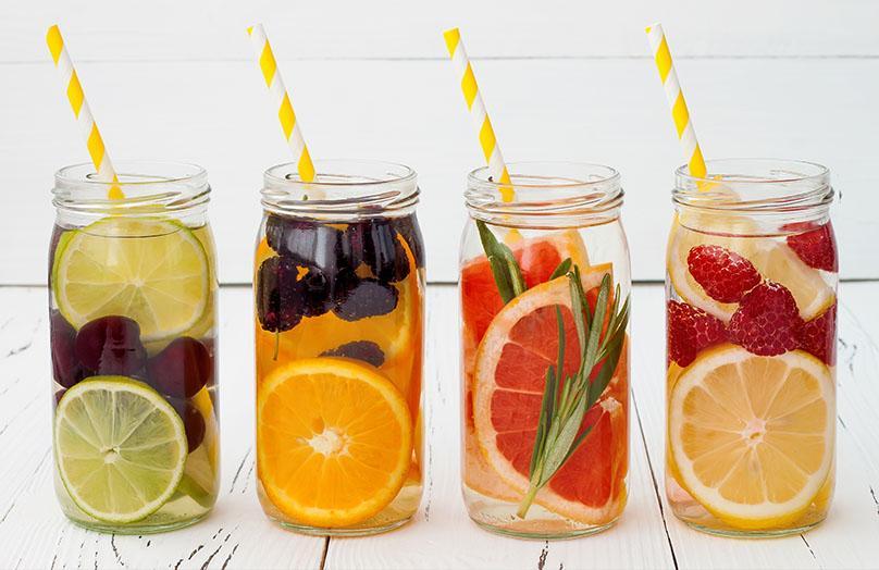 Flavoured Water - der Hit für den Sommer