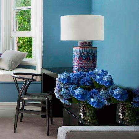 Fünf Gründe für die Trendfarbe Blau
