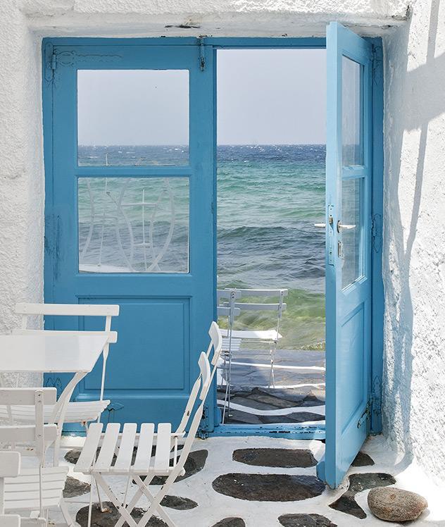 Mykonos: el paraíso azul y blanco