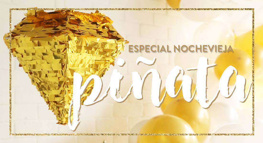 Especial Nochevieja piñata DIY
