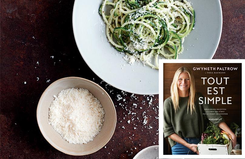 Les bonnes recettes de Gwyneth Paltrow