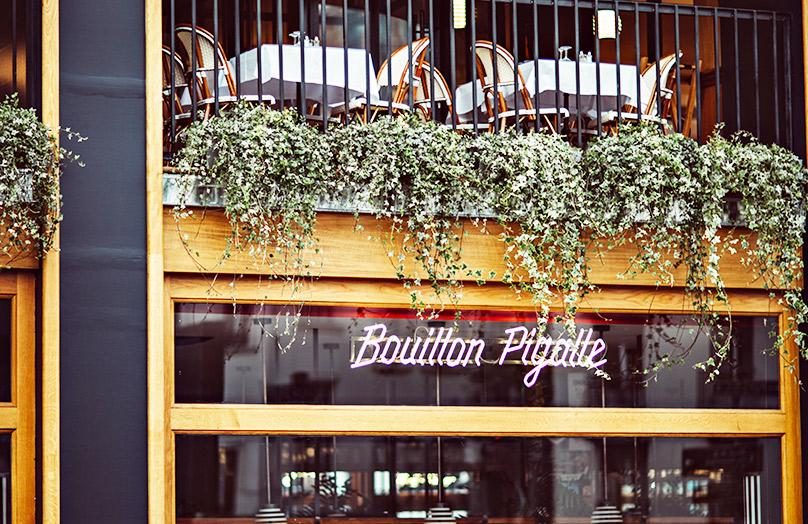 Bouillon Pigalle : Le nouveau restaurant design frenchy