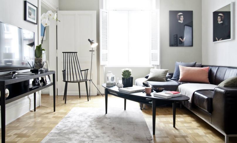 Stile scandinavo e raffinato: a casa di Corinna Thiel