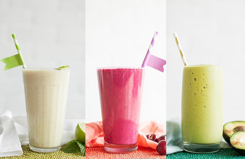Smoothie - Tre ricette dal sapore d'estate