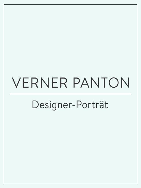 Designer-Porträt über Verner Panton
