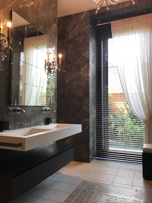 Designer Badezimmer aus Marmor