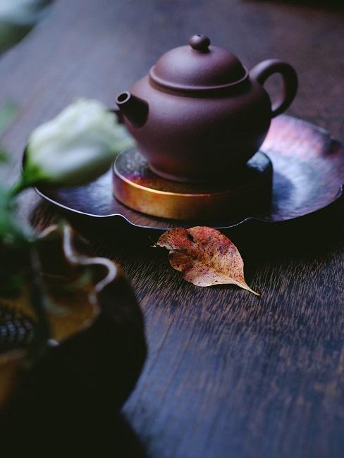 Teezeremonie Kanne