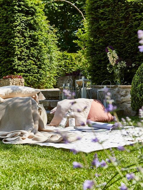 Wallerstein Gardens Decke Picknick Kissen
