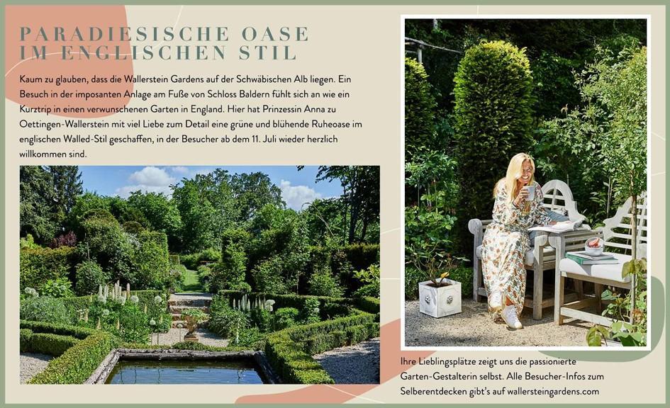 Wallerstein Gardens Informationen