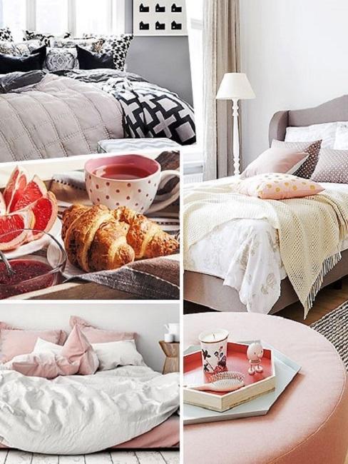 Sommer Bettwäsche Bett Schlafzimmer