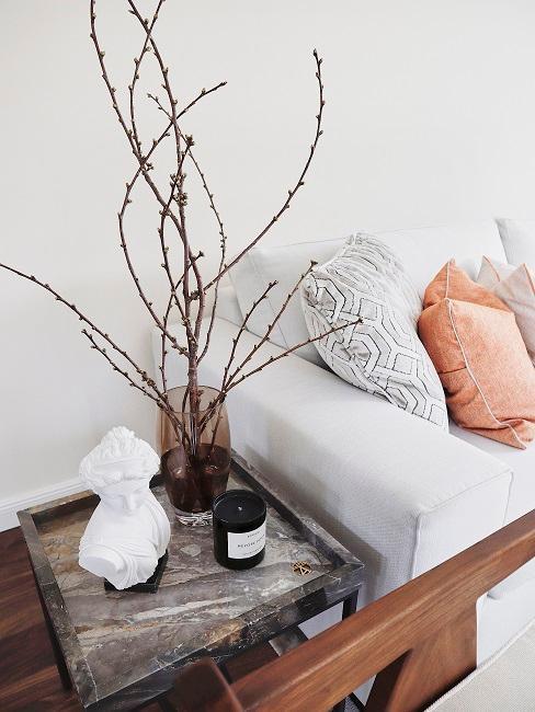 Ayda Hadi Beistelltisch Deko Sofa Wohnzimmer