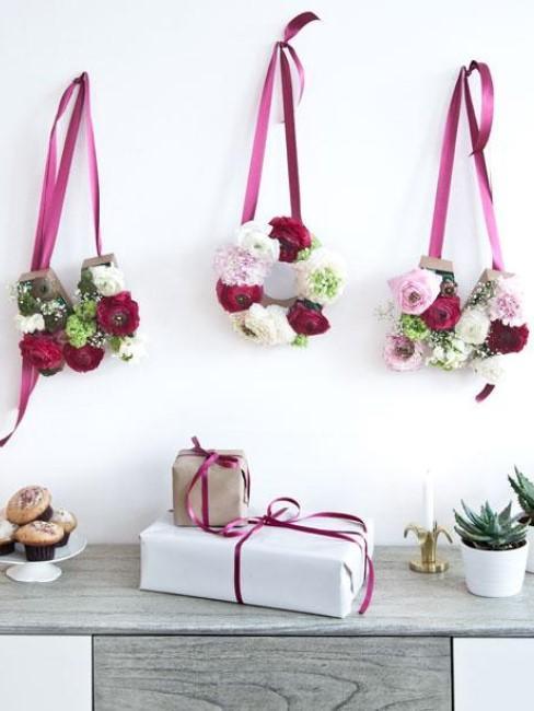 DIY florale Buchstaben für den Muttertag