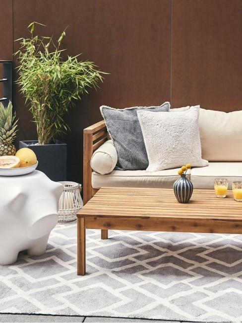 set lounge con alfombra