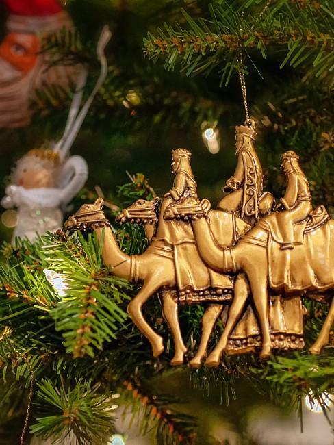 adorno de navidad de los reyes magos