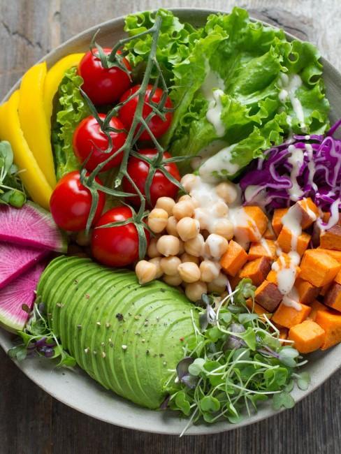 bol de verduras