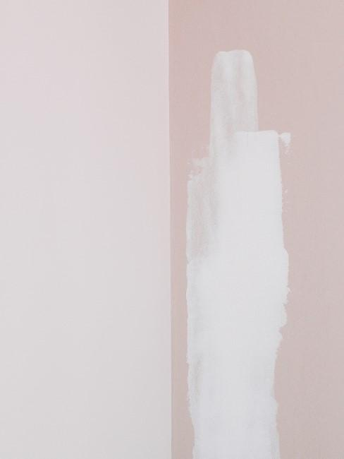 paredes en tonos rosas