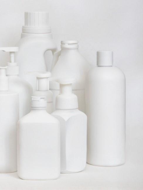 recipientes de plástico para reciclar
