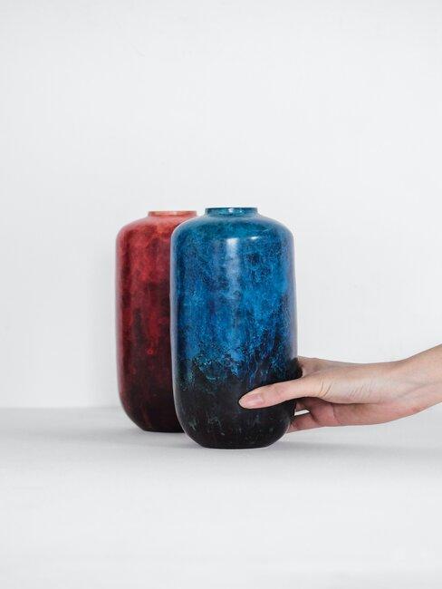 Decoración con cerámica de colores