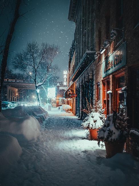 calle de ciudad nevada