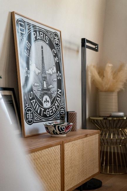 affiche paris saint germain vintage