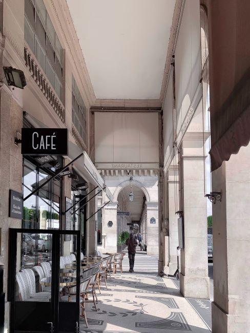 café Paris Rivoli, selfie, voyages;