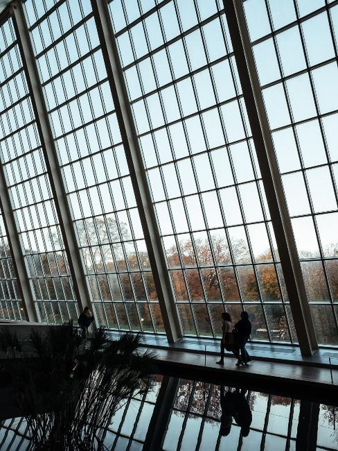 Grande baies vitrée New York