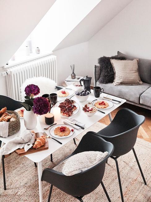 Petit salon salle à manger