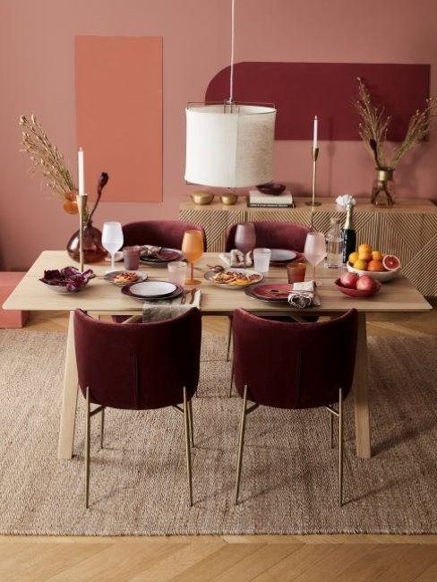 sala da pranzo stile classico moderno