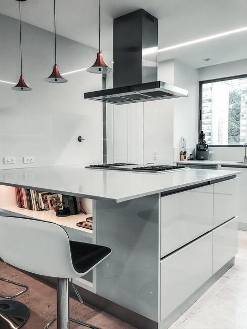 Kookeiland in moderne stijl keuken