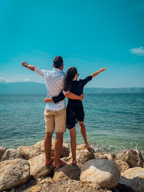 Ela i Mateusz z bloga Wnętrzności na wakacjach