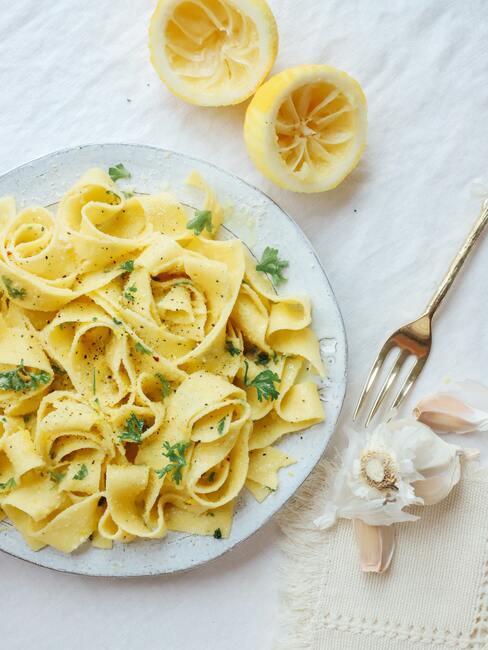 Pasta ala limone