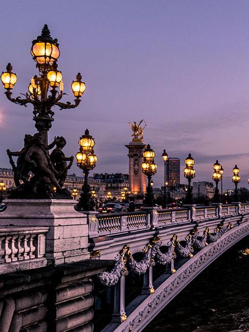 Most Pont Alexandre III w Paryżu
