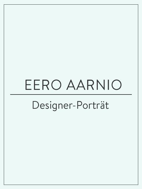 Designer-Porträt über Eero Aarnio