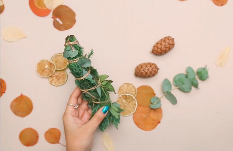 Herbstliche Räuchersticks